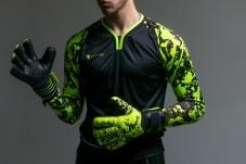Воротарські рукавиці Redline Splash Lime