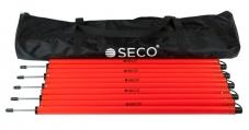 Набір слаломних палок SECO 1.7 м з сумкою