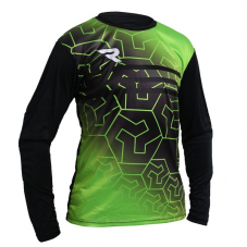 Воротарський реглан Redline Black/Green GK Shirt
