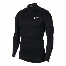 Термофутболка с длинными рукавами Nike Pro Mock Long Sleeve
