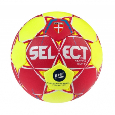 М'яч для гандболу Select Match Soft IHF 162285-210