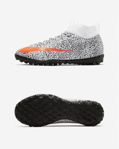 Сороконіжки дитячі Nike JR Mercurial Superfly 7 Academy CR7 Safari TF CV3187-180