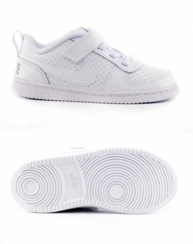 Кросівки дитячі NikeCourt Borough Low Baby Toddler Shoe 870029-100