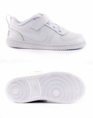 Кросівки дитячі NikeCourt Borough Low Baby Toddler Shoe 870029-100