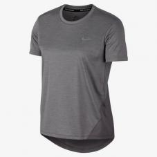 Футболка для бігу жіноча Nike W Nk Miler Top Ss AJ8121-056