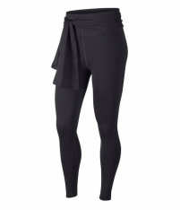 Лосіни жіночі Nike Power Studio Wrap Power Tights Women Leggings Dark Grey AR7555-080