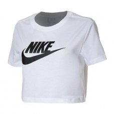 Футболка жіноча Nike Sportswear Essential Women's Cropped T-Shirt BV6175-100