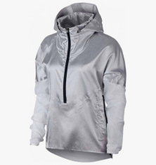 Реглан жіночий Nike Women's Hooded Running Jacket AT1128-095