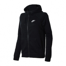 Реглан жіночий Nike Sportswear Essential Women's Full-Zip Fleece Hoodie BV4122-010