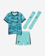 Комплект дитячої футбольної форми Nike Liverpool FC 2020/21 Away CZ2654-354
