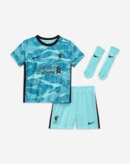 Комплект дитячої футбольної форми Nike Liverpool FC 2020/21 Away CZ2652-354