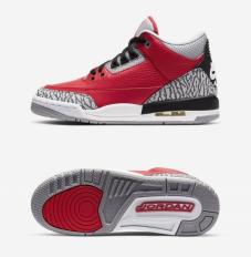 Кросівки для баскетболу дитячі Air Jordan 3 Retro SE CQ0488-600