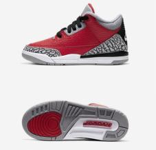 Кросівки для баскетболу дитячі Jordan 3 Retro SE CQ0487-600