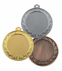 Медаль MJ1070 70мм - Срібна