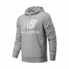 Реглан New Balance Essentials Stacked Logo Hoodie MT03558AG