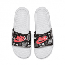 "Шльопанці Nike Benassi ""Just Do It"" Print 631261-107"