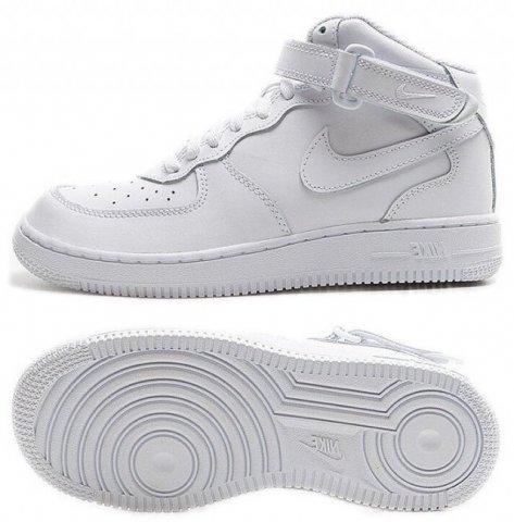 Кросівки дитячі Nike Force 1 Mid Little Kids' Shoe 314196-113