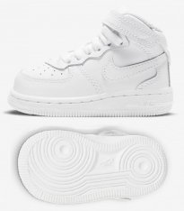 Кросівки дитячі Nike Force 1 Mid Little Kids' Shoe 314197-113