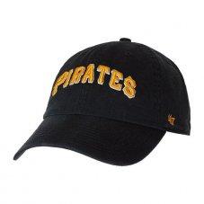 Кепка 47 Brand Pittsburgh Pirates Clean Up B-RGWSC20GWS-BK