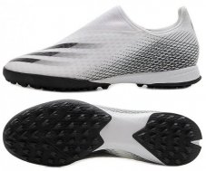Сороконіжки Adidas X Ghosted.3 Laceless TF EG8158