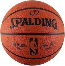 М'яч для баскетболу Spalding NBA Gameball Replica Outdoor 83385Z