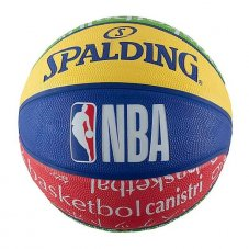 М'яч для баскетболу Spalding Nba Junior Outdoor 83047Z