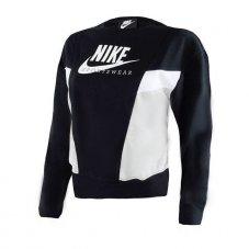 Реглан жіночий Nike Sportswear Women's Heritage Fleece Crew CZ8598-010