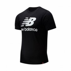 Футболка New Balance Ess Stacked Logo MT01575BK
