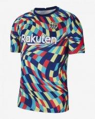 Футболка Nike F.C. Barcelona Men's Pre-Match Short-Sleeve Football Top CW7750-492