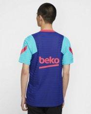 Футболка ігрова Nike F.C. Barcelona VaporKnit Strike Men's Short-Sleeve Football Top CW1398-456