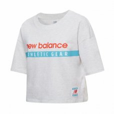 Футболка жіноча New Balance Essentials Field Day Boxy WT11508SAH