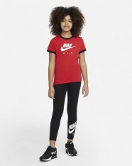 Футболка дитяча Nike Girls NSW Tee Ringer  Air DC7158-657