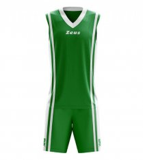 Комплект баскетбольної форми Zeus KIT BOZO VE/BI Z01124