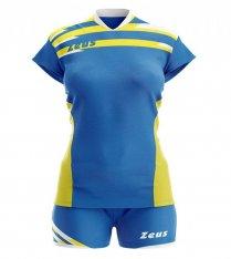 Комплект жіночої волейбольної форми Zeus KIT ITACA DONNA RO/GI Z01002