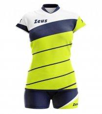 Комплект жіночої волейбольної форми Zeus KIT LYBRA DONNA FL/BL Z00230