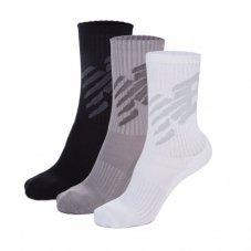 Шкарпетки New Balance Big logo 3 Pair Crew LAS02563WM