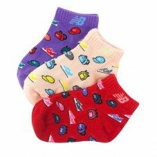 Шкарпетки New Balance Toddler Low Cut 3 Pair LAS09323AS4