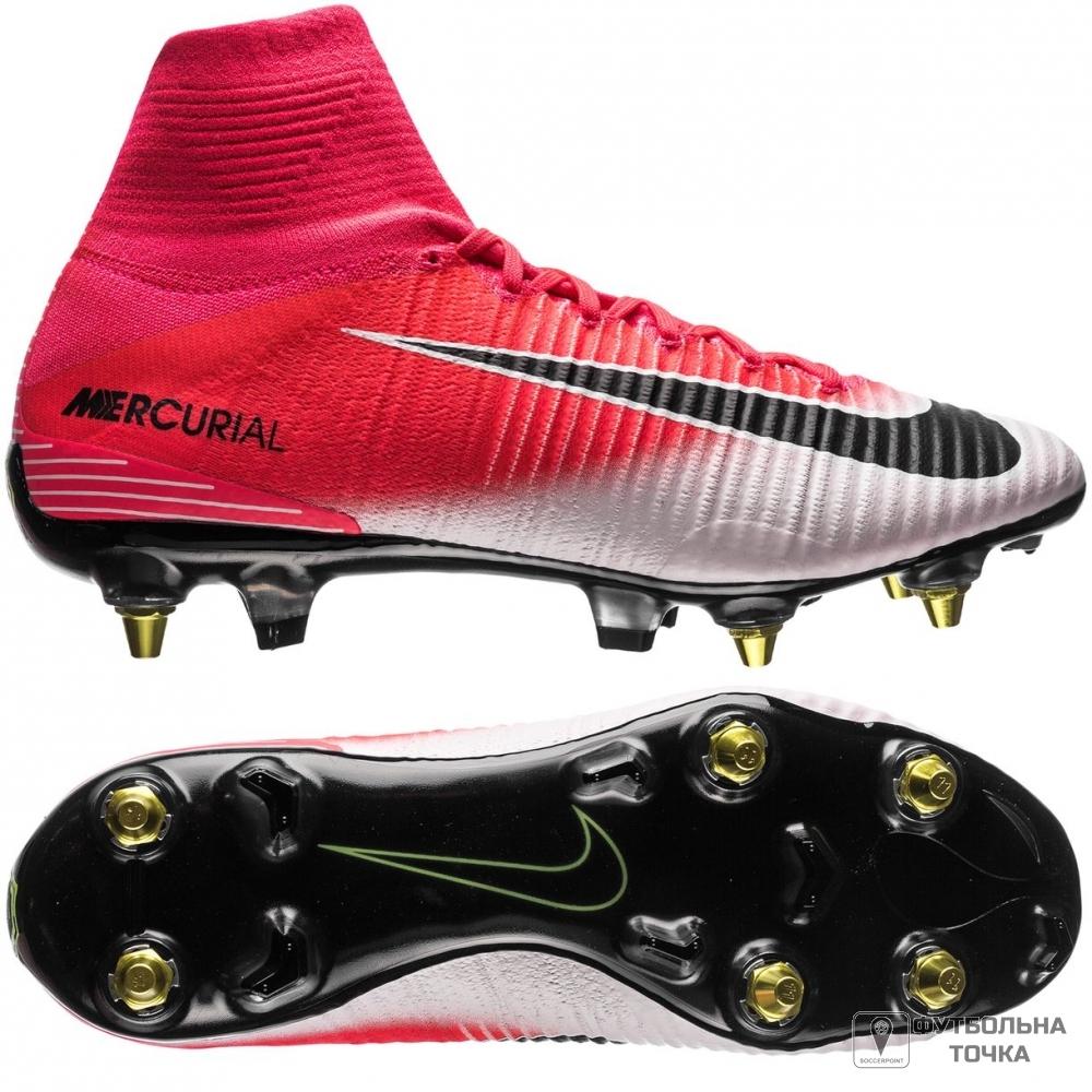 9130a5e0 Артикул производителя 889286-601. Бутсы Nike Mercurial Superfly V SG-PRO  Anti-Clog