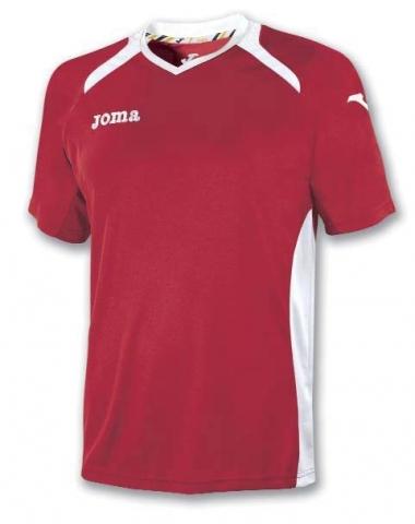 Футболка Joma CHAMPION II (червоно-біла)