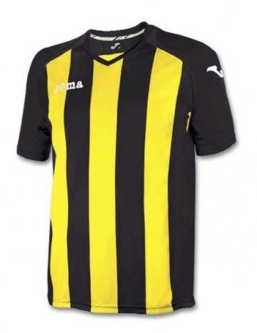 Футболка Joma PISA 12 (жовто-чорна)
