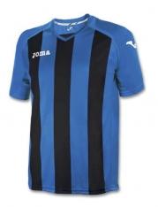 Футболка Joma PISA 12 (чорно-синя)