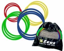 Кольца для координации Zeus SET CERCHI PVC 60 CM PIATTI 12 PZ