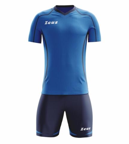 Комплект футбольної форми Zeus KIT FAUNO M/C BL/RO