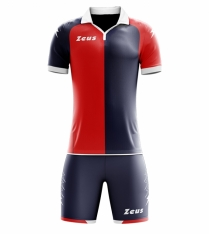Комплект футбольної форми Zeus KIT GRYFON BL/RE