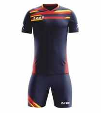 Комплект футбольной формы Zeus KIT ITACA UOMO BL/RE