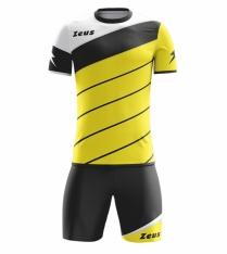 Комплект футбольної форми Zeus KIT LYBRA UOMO GI/NE
