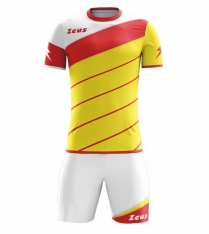 Комплект футбольної форми Zeus KIT LYBRA UOMO GI/RE