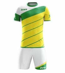 Комплект футбольної форми Zeus KIT LYBRA UOMO GI/VE