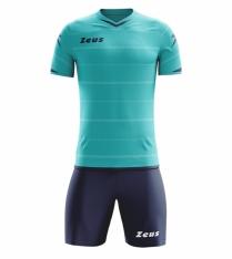 Комплект футбольної форми Zeus KIT OMEGA AQ/BL