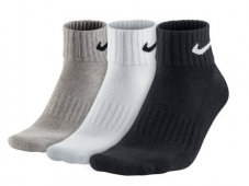 Шкарпетки Nike 3PPK Value Cotton Quarter